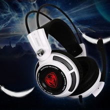 Somic G941 7.1 Virtual Surround Sound USB Headband Gaming Headset Headphone with Vibrating Function Microphone Voice Control