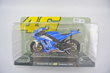 1/18 Scale VALENTINO ROSSI Yamaha Diecast Motorcycle YZR M1 No.46 Catalunya 2008 Vehicle Model Toys Boys Gifts Collection