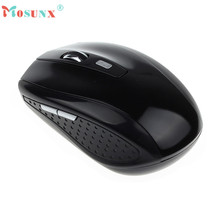 Mosunx Advanced  computer mouse wireless mouse Portable 2.4G Wireless Optical Mouse For Computer PC Laptop Gamer Gifts