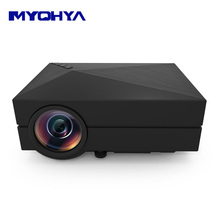 GM60 LED Micro Projector Support AV VGA USB SD Card Earphone for VCD DVD PC Cell Phone Movie Music Entertainment