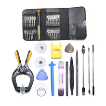 38 in 1 Mobile Phone Repair Tools Kit Spudger Pry Opening Screen Tool Set Screwdriver Plier Disassembly For iPhone 5 For Samsung