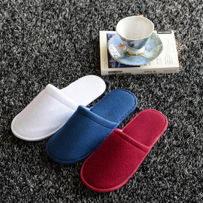 1 Pair Disposable Slippers Hotel Travel Is Convenient To Carry Women And Men Free Shipping Fashion<br><br>Aliexpress