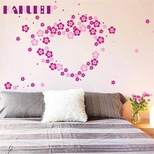 Kakuder 1 Set Indoors Decoration Flower Creative Stereo Removable 3D DIY Wall Stickers #10 2017 Gift Drop