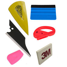 Car Wrap Application Vinyl Tool Kit 3M Felt Squeegee Snitty Cutter 6pc Tool Set(China)