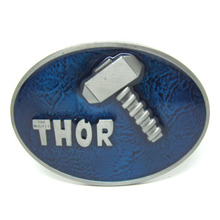 New Arrival Western Thor Belt Buckle Blue Color Metal For 4cm Wide Belt Classic Mens Womens Jeans accessories Drop shipping