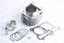 FORGED Piston Big Bore Cylinder 65mm for YAMAHA BWS ZUMA CYGNUS Flame-X YW/NXC125 - 200cc(China)