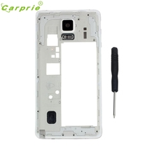 Hot Selling Middle Housing Frame Repair Parts Plate For Samsung Galaxy Note 4 Mobile phone housings