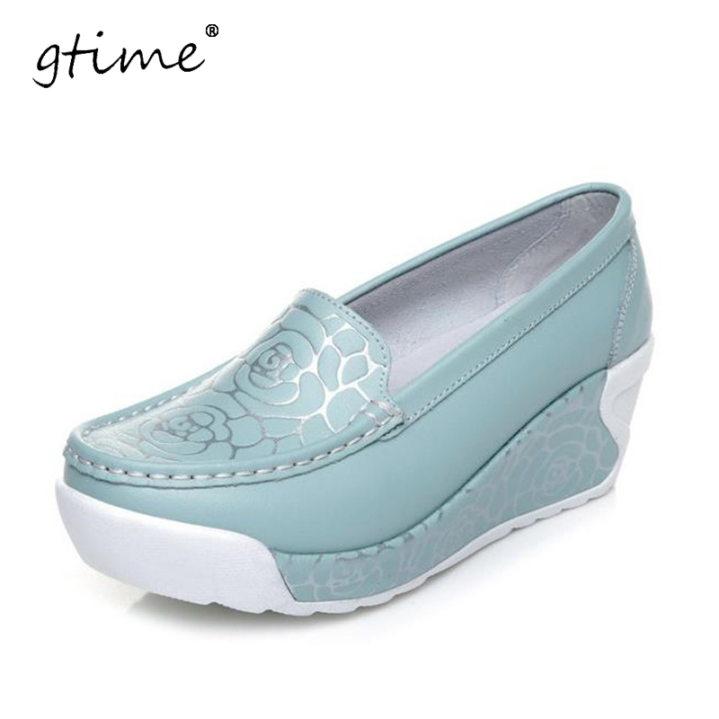 GTIME 2017 New spring &amp; summer style soft women shoes fashion print women flats shoes for women sapato feminino # ZWB109<br>