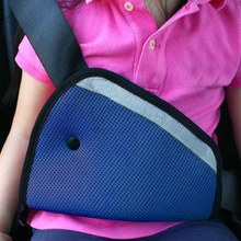 Car Safety Seat Belt Padding Adjuster For Children Kids Baby Car Protection soft pad mat Safety car seat belt strap cover(China)