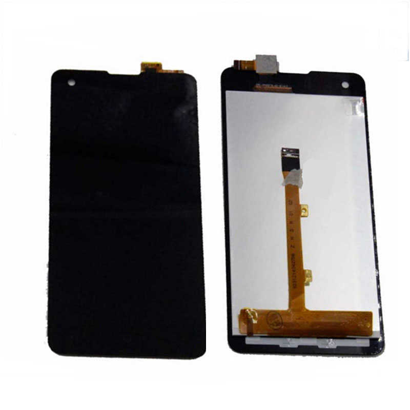 4.7 Touch Panel For Highscreen Omega Prime S FPC9231t  Black Touch Screen Digital Glass Sensor+LCD Display Screen Replacement<br>