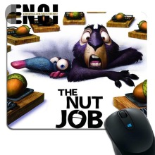 2017 new The Nut Job Background High quality Skid Silica gel Animation Rectangular mouse pad(China)