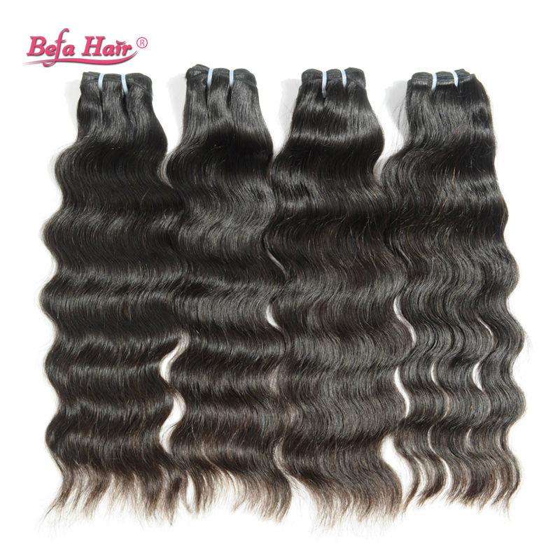 Befa Hair Products Virgin Brazilian Hair Natural Wave 1Pcs 100% Unprocessed Brazilian Hair Bundles Natural Wave Fast Shipping<br><br>Aliexpress