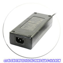 Free shipping 24v 4.5a power supply 4500ma 100 240v 50 60hz laptop 5521 DC barrel plug with 1.2m dc Cord