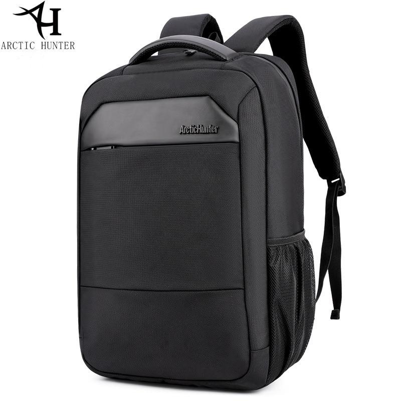 Casual business mens computer backpacks 15.6 Multifunction Large Capacity Waterproof Laptop backpack youth black bagpack<br>