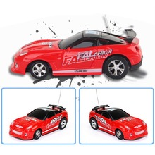 Coke Mini RC Car Can Remote Control Micro Racing Car Adult Child Gift Toys