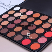 ICYCHEER 35 Smoky Color Nude Makeup Eyeshadow Palette Shimmer Matte Eye Shadow Matt Smoky(China)