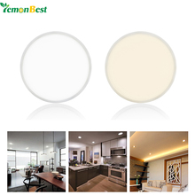 8W /16W /22W LED Panel Light Ceiling Lamp Downlight Slim Narrow Frame Large Luminous Area With Driver Cool/Warm White AC 85-265V