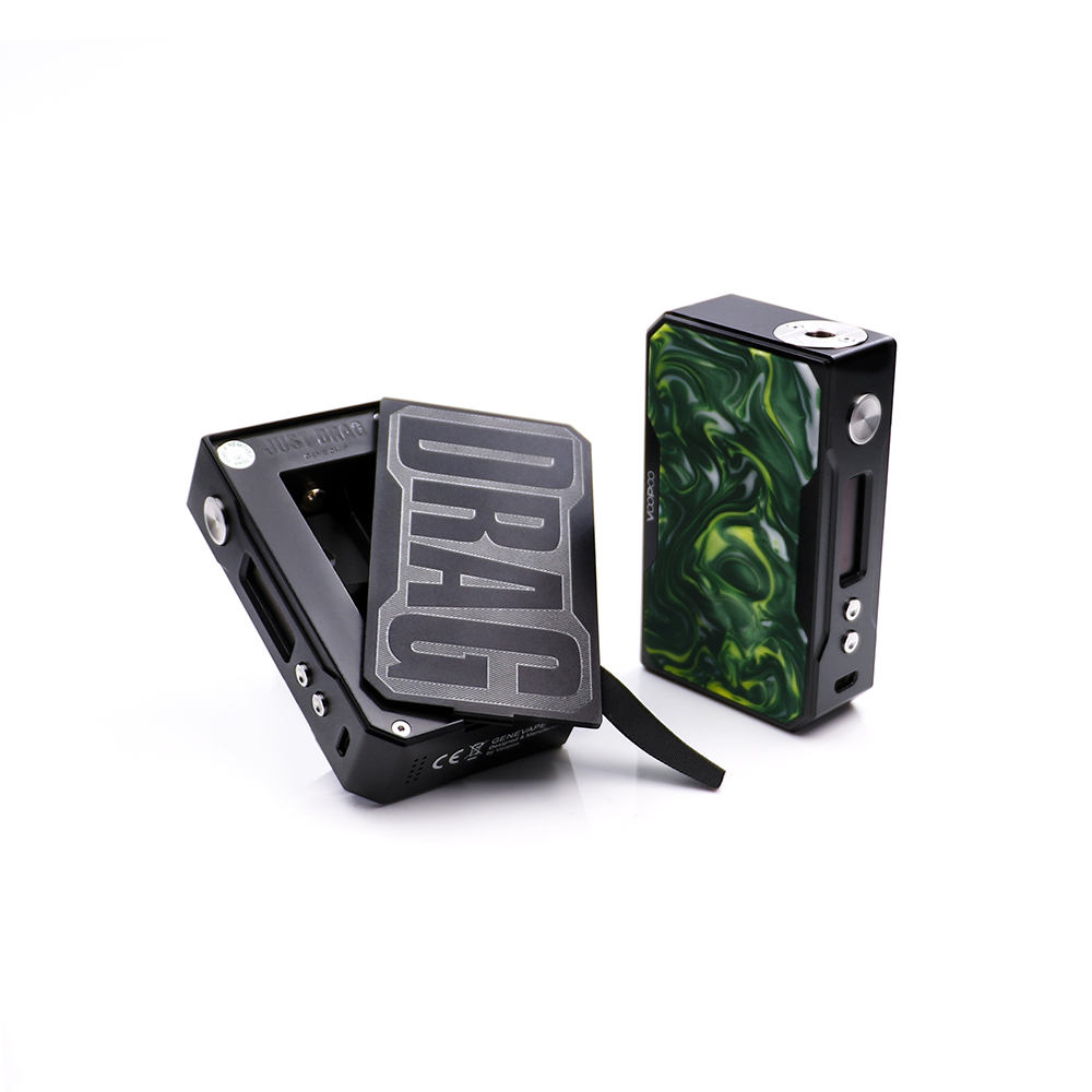 Voopoo Drag 157w mod black resin (4)