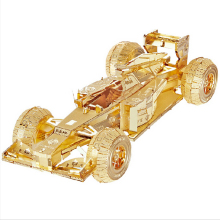 Formula car Model 3D laser cutting Jigsaw puzzle DIY Metal model Nano Puzzle Kids Educational Puzzles Toys for Children&Adults