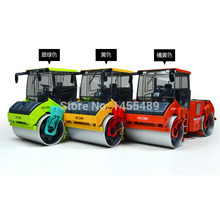 Full alloy engineering car road roller model car two-wheel model toy 1:50 Scale Die Cast Tandem Compactor Construction Vehicle