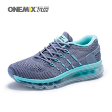 Onemix 2017 new women running shoes unique shoe tongue design breathable sport shoes female athletic outdoor sneakers US3.5-7(China)