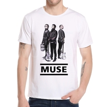 Buy Fashion Rock Band Muse t shirts Men 2018 Summer Short Sleeve Muse t-shirt Tops Rock Band T-Shirt Top Brand Clothing M3-1# for $6.12 in AliExpress store