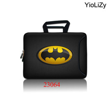 Batman Laptop bag Tablet Case Notebook Sleeve Cover 10 12 13 14 15 15.6 17 inch Briefcase For Asus HP Acer Lenovo SBP-23064(China)