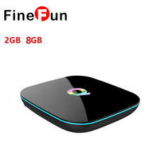 Q TV BOX Android 5.1 TV BOX Amlogic S905 2GB RAM 16GB ROM Smart HD player Dual Band WiFi BT4.0 Online update IPTV HDD player