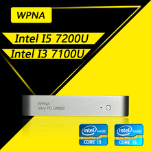 WPNA Nettop intel core  i3 i5 6100U 6200U 7100U 7200U HD Graphics 520 620 mini pc windows All In One Computer Office Desktop