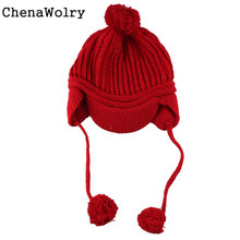 Casual Winter Warm New Spring Children's Knitted Hats Boys Caps Baby Girls Hat Beanie Peaked Cap  Dec 14