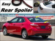 Root / Rear Spoiler For TOYOTA Corolla Trunk Splitter / Ducatail Deflector For TG Fans Easy Tuning / Free Modeling