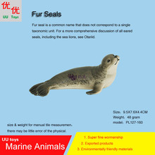 Hot toys Fur Seal Simulation model Marine Animals Sea Animal kids gift educational props (Arctocephalinae) Action Figures