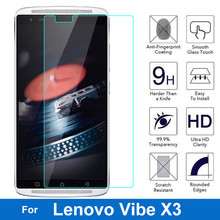 For Lenovo Vibe X3 Screen Protector Tempered Glass 0.26MM 9H 2.5D Safety Protective Film On Lemon X 3 X3c50 X3c70 Dual Sim