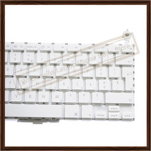 "Original White Laptop Polish Keyboard Replacement for Apple Macbook 13.3"" A1181 Poland Language Keyboard without Backlight"