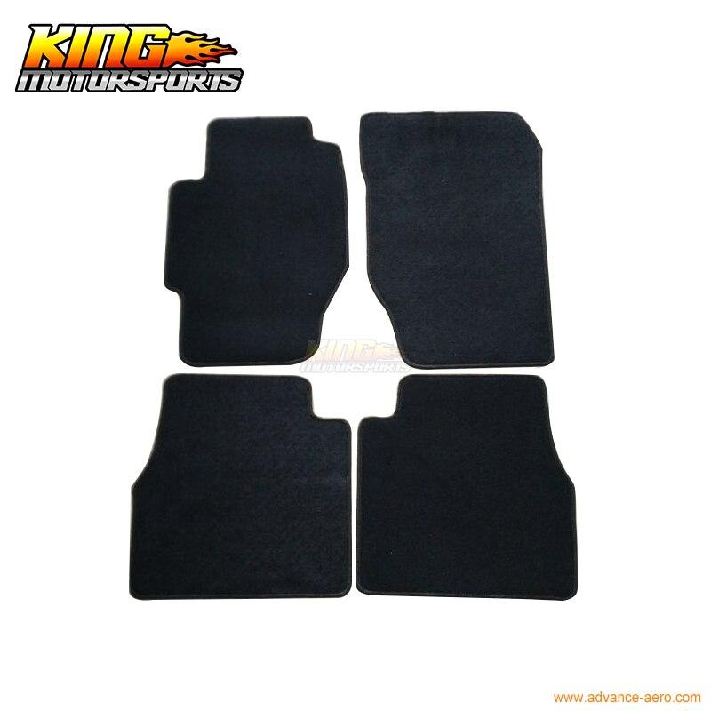 Fit For 1998-2002 Honda Accord Floor Mats Carpet Front /& Rear Nylon Black 4PC