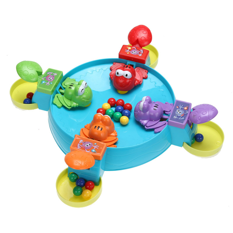 Kids Game Board Multiplayer Plastic Board Game Parent Child Interaction Feeding Small Frog Child Educational Toys<br><br>Aliexpress