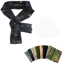 2017 Versatile Arab Army Tactical Camouflage Scarf Men Military Jungle Combat Windproof Mesh Shawl Veil Shemagh Hunting Scarves