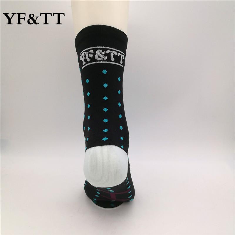 YF&TT Coolmax Men Cycling Sport Socks Bike Riding Socks Basketball Football Running Socks Fit For 40-46 7
