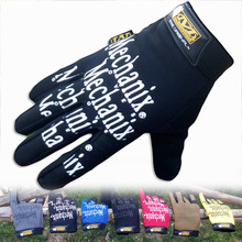Mechanix Wear Tactical Gloves M-Pact Gym Sports Mittens Fitness Long Glove Driving Luva Tatica Full Finger Moto Gloves Wholesale