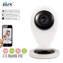 IP Camera HD 720P IR-Cut Wifi Mini IP Camera Indoor Smart P2P Baby Monitor Two Way Audio Wireless Security CCTV Camera