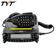 TYT TH-9800 Mobile Radio 50W HF / VHF / UHF Walkie Talkie Quad Band Dual Display Reapter Car Ham Radio with 800 Channels(China)