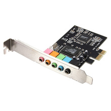 GTFS-PCI Express PCI-E 5.1 Channel 3D Audio 6 Channels Digital Sound Card For win XP(China)