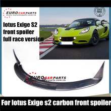 Z-line new Design For lotus exige s2 carbon front spoiler full race version set tunning super sport car(China)