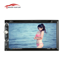 "Universal Double 2 Din Car DVD player 7"" Car Autoradio Video/Mutimedia MP5 Player Car Stereo audio player with display In-Dash(China)"