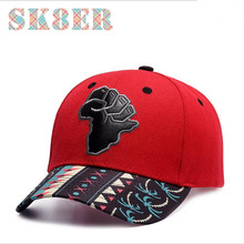 Distinctive red sports caps with black sole high quality suitable for men or women hats for running hip hop or skateboard(China)