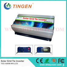 Gird tie inverter with lcd display 1500w 1.5kw for solar panel with mppt function dc input 48v to ac output
