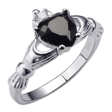 Hot Sale Exquisite Black onyx 925 Sterling Silver High Quantity Ring Beautiful Jewelry Size 5 6 7 8 9 10 11 12 F1535