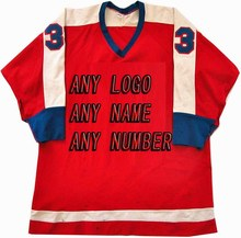Buy Cheap Custom Hockey red Jerseys Replica Mens Vintage Jersey green XXS-6XL Free Shipping