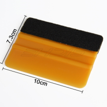 EHDIS Gold 3M Felt Squeegee Car Vinyl Film Wrap Tool Car Sticker Mobile Screen Film Applicator Tool Window Cleaning Wiper A02G(China)