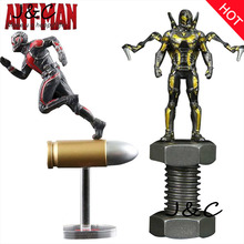 Hot Sale Ant Man Marvel Super Hero Ant-Man Movie Toys PVC Action Figure Collectible Model Toys 6.5CM For Gifts Toy For Children